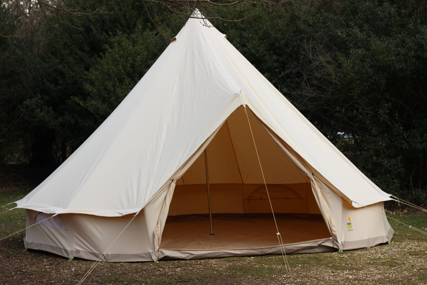 4m/5m unfurnished glamping bell tent