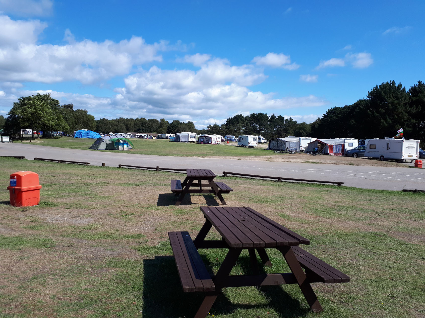 holmsley-campsite-picnic-benches